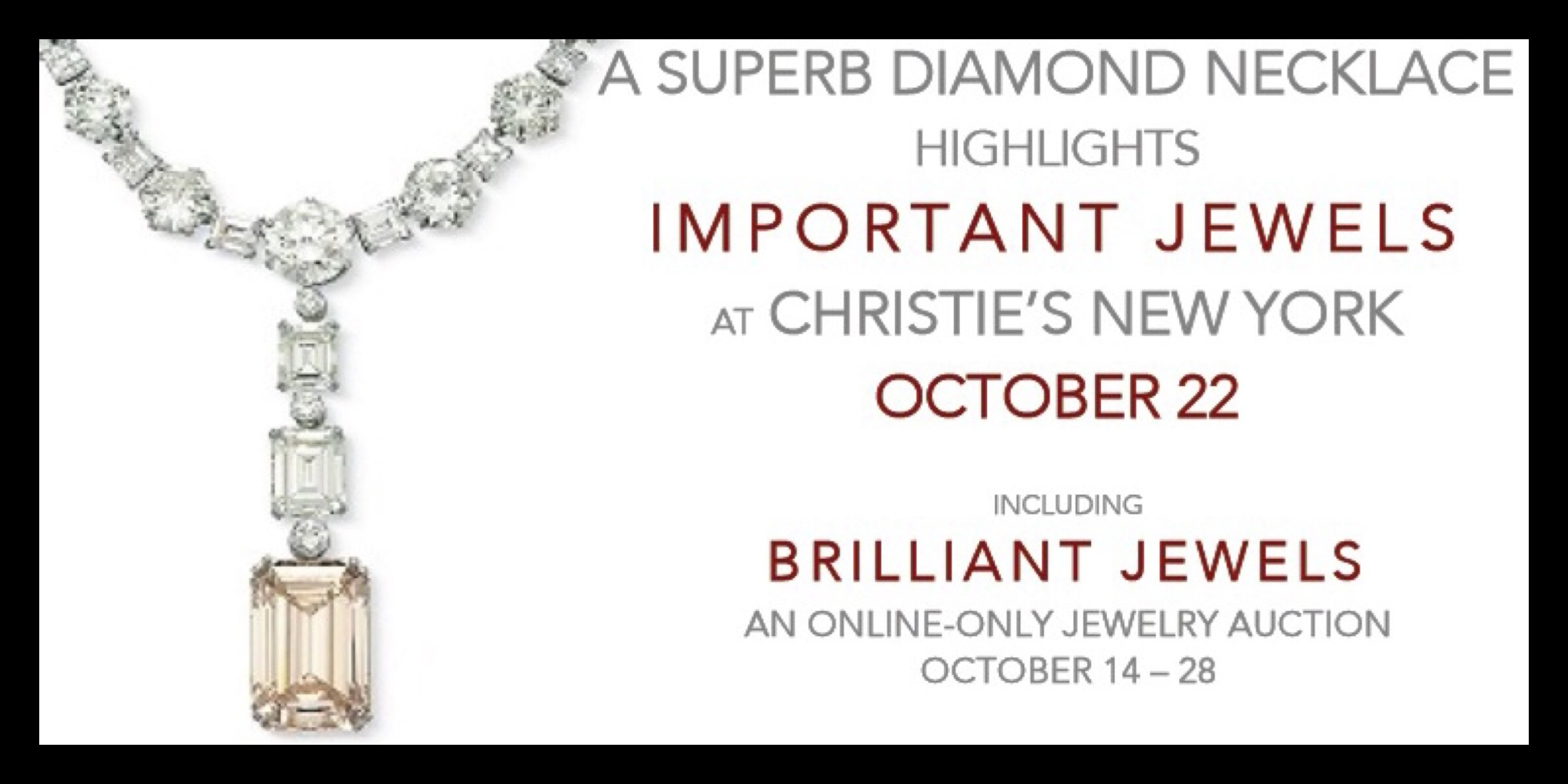 Important jewels at Christies | New York