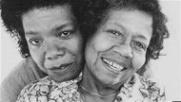 Maya with her mother Vivian Baxter