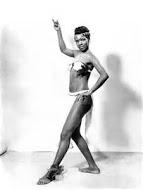 Young calypso dancer